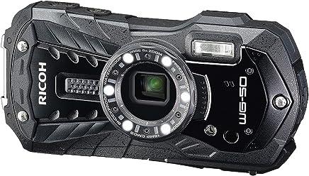Ricoh WG-50 Waterproof Digital compact Camera - Black