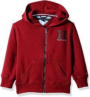 Tommy Hilfiger Boys' Long Sleeve Matt Logo Zip Up Hoodie