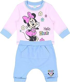 Set bébé Bleu et Rose Minnie Disney