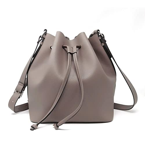 Drawstring Bucket Bag for Women Large Crossbody Purse and Shoulder Bag  Suede Tote Handbags c3369b84d899f