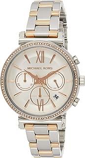 Michael Kors Sofie Women's White Dial Stainless Steel Band Watch - Mk6558, Analog Display