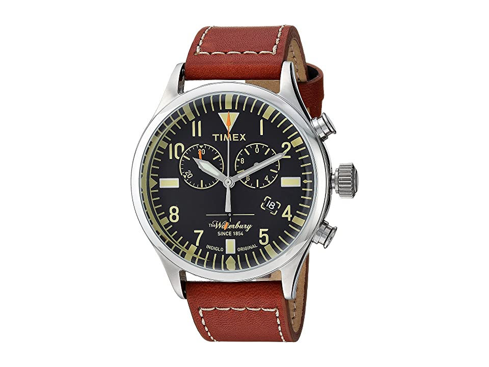 Timex Waterbury Traditional Chrono (Brown/Black) Watches