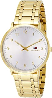 Tommy Hilfiger Womens Quartz Watch, Analog Display and Stainless Steel Strap 1791337