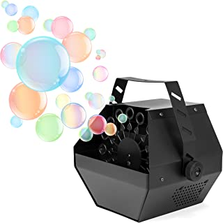 Best Choice Products Portable Indoor Outdoor Professional Metal Automatic Bubble Machine Blower w/High Output - Black