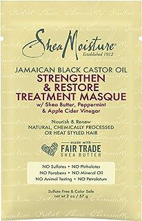 Shea Moisture Jamaican Black Castor Oil Strengthen-Grow Restore Treatment Masque For Unisex 2 oz Treatment