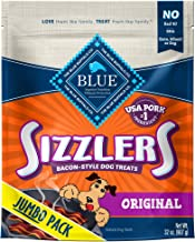 Best Blue Buffalo Sizzlers Natural Bacon-Style Soft-Moist Dog Treats Review