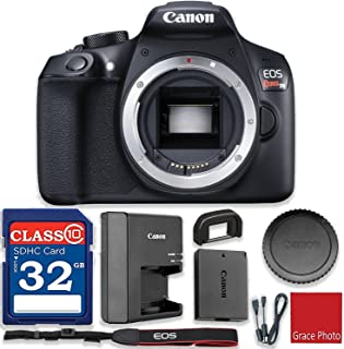 Canon EOS Rebel T6 18MP Digital SLR Camera (Body Only) Wi-Fi Enabled