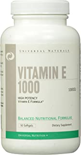 Vitamin E 1000IU 50 softgels