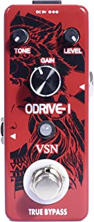 VSN Blues Drive Classical Electric Vintage Overdrive Guitar Effect Pedal True Bypass