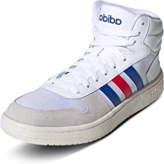 adidas Hoops 2.0 Mid, Chaussure de Basketball Homme