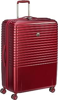 Delsey Paris Caumartin Plus 76 cm 4 Double Wheels Trolley Case Suitcase (Hardside), Burgundy (00207882104)