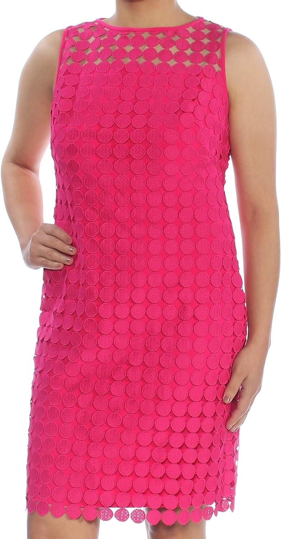 Lauren by Ralph Lauren Women's Geometric Square Lace Dress