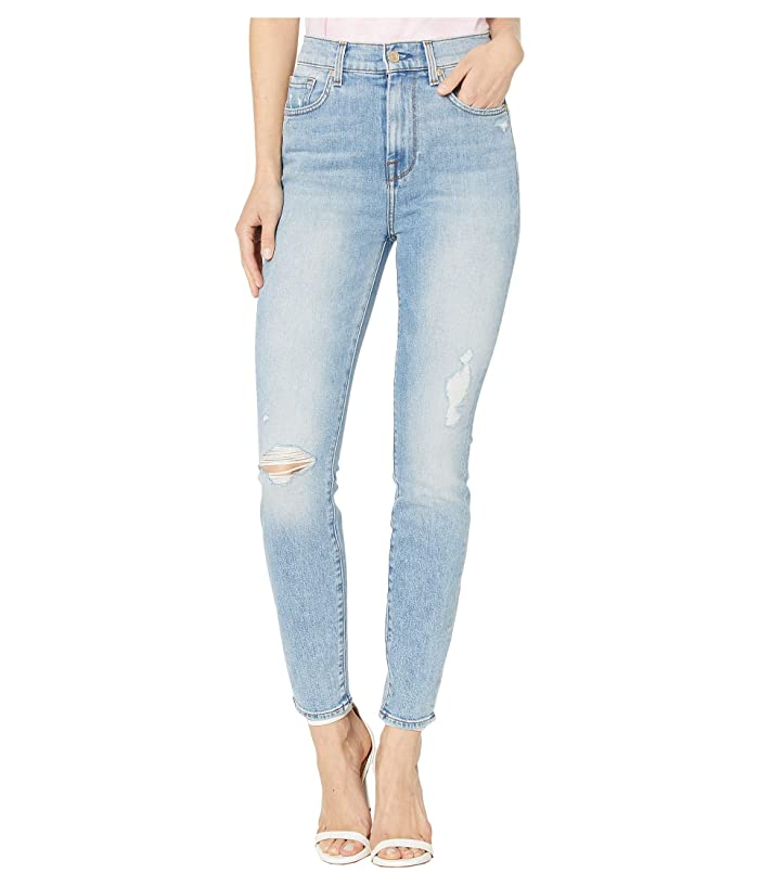 7 For All Mankind  High-Waist Ankle Skinny in Vail (Vail) Womens Jeans