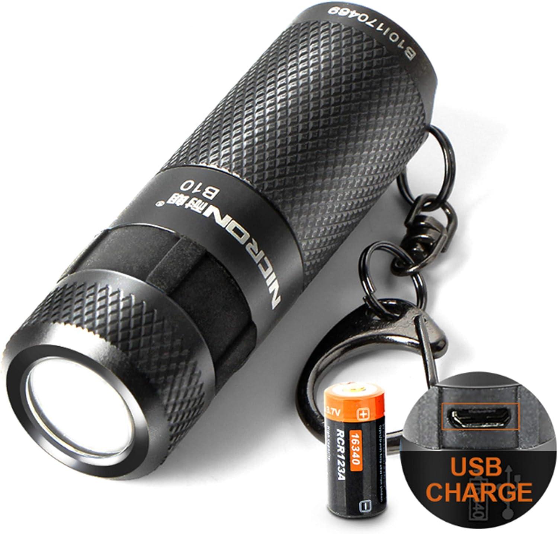 Taschenlampe 3 Watt Mini Led Taschenlampe Usb Licht Lampe 3 Modi Taschenlampe Wasserdichte Led Usb Wiederaufladbare Schlüsselbund Taschenlampe Für