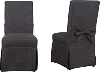 Picket House Furnishings Margo Dining Chair in Charcoal (Set of 2)