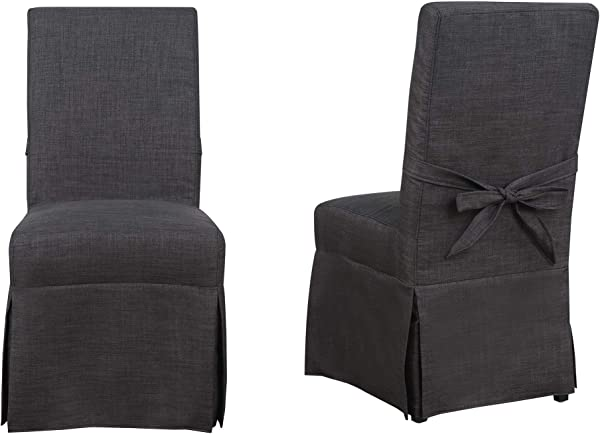 Picket House Furnishings Margo Dining Chair In Charcoal Set Of 2