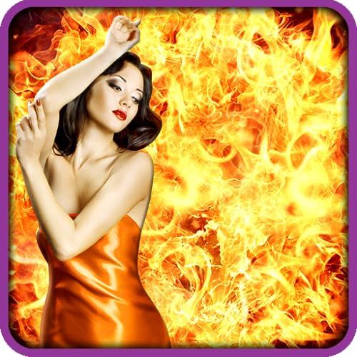 Fire Photo Selfie