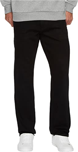 Calvin Klein Jeans - Slim Straight Fit Jeans in Worn In Black