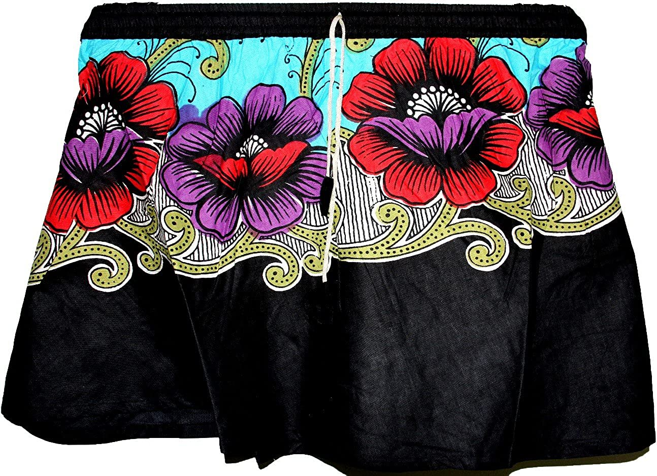 Highwaypay Indian Stylish Baby Skirt Casual Wear Cotton Floral Printed Short Mini Summer Skirt 2955