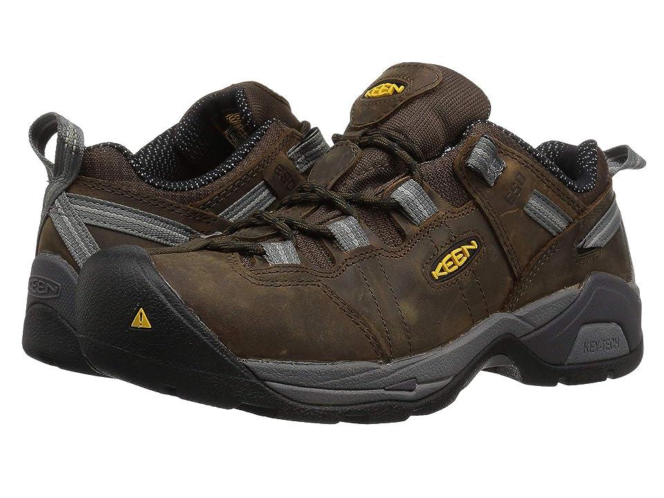 Keen Utility Detroit XT Steel Toe ESD (Cascade Brown/Gargoyle) Men