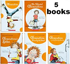 Sara Pennypacker CLEMENTINE Series SET , Books 1-5 (#1 - Clementine #2 - The Talented Clementine #3 - Clementine's Letter #4 - Clementine: Friend of the Week #5 - Clementine and the Family Meeting)
