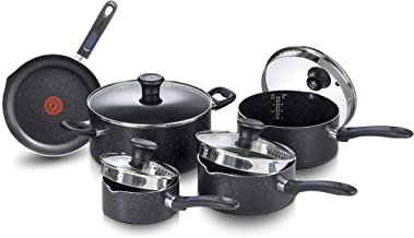 T-FAL G706SE54 Excite Stainless Steel 14pc Cookware Set
