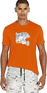 Avirex Men's Tiger Short Sleeve T-Shirt