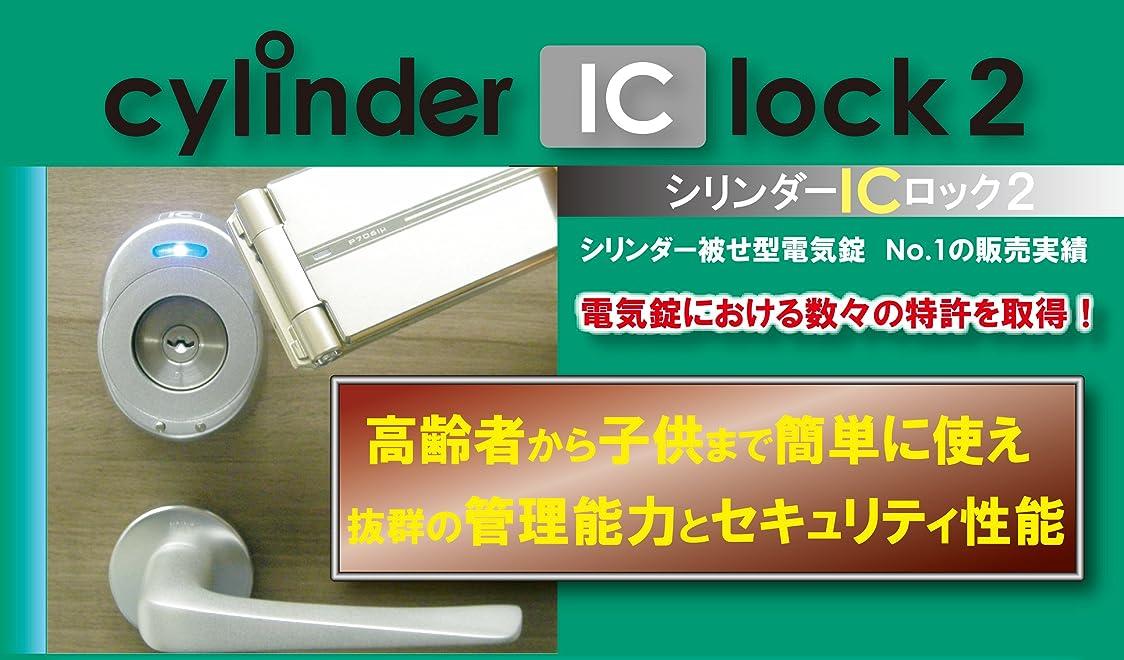 実業家ピケスコットランド人シリンダーICロック2 (シルバー)