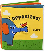 Melissa & Doug Soft Activity Book - Opposites (Developmental Toy, Machine Washable, Great Gift for Girls and Boys - Best for Babies, Toddlers, All Ages)