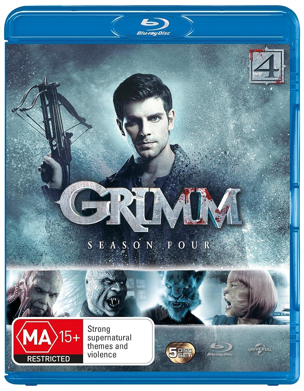 Grimm Season 4 5 Discs NON-USA Import Brand Cheap Sale Venue Au Format lowest price - B Region
