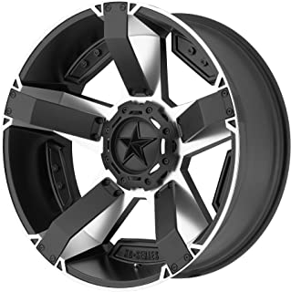 XD Series by KMC Wheels XD811 Rockstar II Satin Black Wheel with Painted (20 x 9. inches /6 x 135 mm, 18 mm Offset)