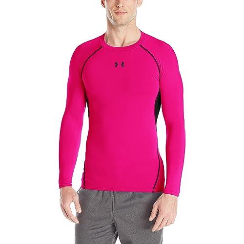d10eb8c77 Under Armour Men's HeatGear Armour Long Sleeve Compression Shirt