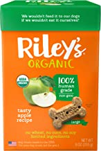 Riley's Organic Dog Treats - Organic, Certified Vegan and Non GMO Project Verified Dog Biscuits