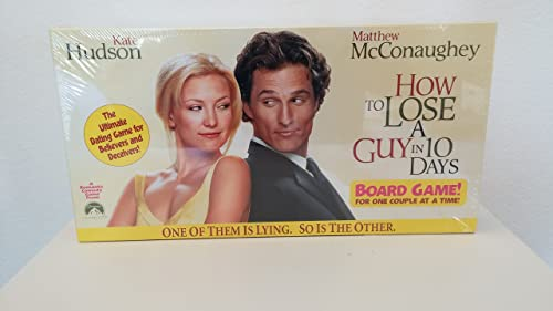 How to Lose a Guy in 10 Days Board Game - The Ultimate Dating Game for Believers and Deceivers