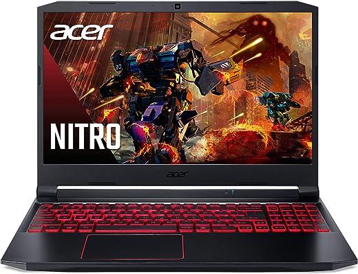"Acer Nitro 5 Gaming Laptop, 10th Gen Intel Core i5-10300H,NVIDIA GeForce GTX 1650 Ti, 15.6"" Full HD IPS 144Hz Display, 8GB DDR4,256GB NVMe SSD,WiFi 6, DTS X Ultra,Backlit Keyboard,AN515-55-59KS"