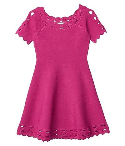 Milly Minis Keyhole Twist Flare Dress (Big Kids) Girl