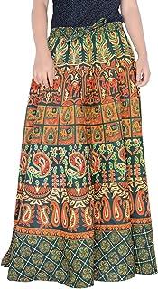 38 Inch Length Elastic Band Skirt for Women Skirt D5