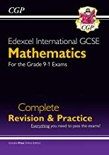 New Edexcel International GCSE Maths Complete Revision & Practice - Grade 9-1 (with Online Edition) (CGP IGCSE 9-1 Revision)