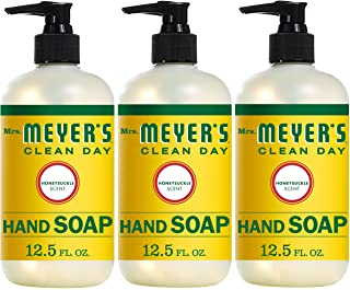 Mrs. Meyer´s Clean Day Hand Soap, Honeysuckle, 12.5 fl oz, 3 ct