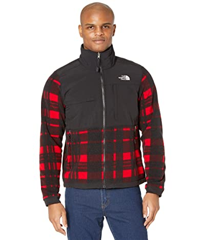 The North Face Denali 2 Jacket (TNF Red Holiday 2 Plaid Print) Men