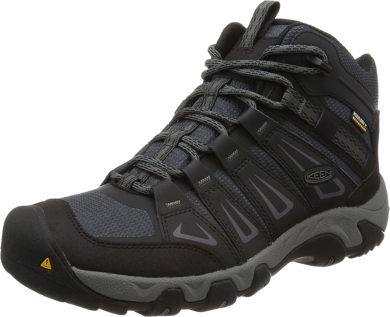 KEEN Men's Oakridge Mid WP Hiking Boots