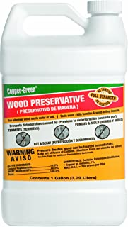 Green Products Co. 30001 Copper Green Wood Preservative, 1-Gallon