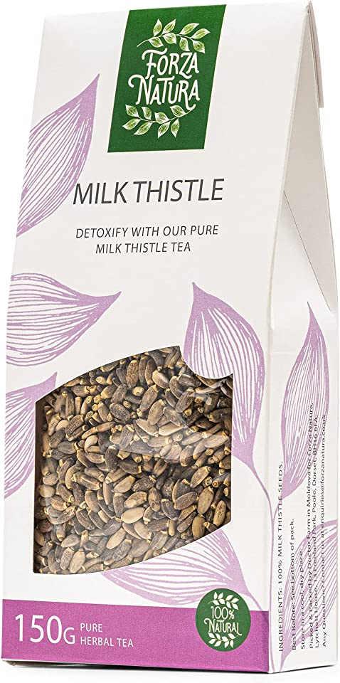 Milk Thistle Seeds - Loose Leaf Herbal Tea - 100% Natural - 150g