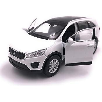 H Customs Welly Kia Sorento Modele De Voiture De Voiture Produit Licencie 1 34 1 39 Blanc Amazon Fr Auto Et Moto