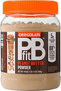 PBfit All-Natural Chocolate Peanut Butter Powder, Powdered Peanut Spread from Real Roasted Pressed Peanuts and Cocoa, 5g o...