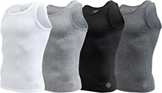 Mens Tank Tops A Shirts Mens Undershirts Contour Fit 4...