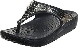 Crocs Crocs Sloane Metaltxt Flip W Women's Women Fashion Sandals