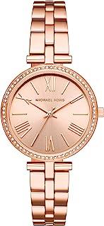 Michael Kors Maci Women's Rose Gold Dial Stainless Steel Analog Watch - MK3904