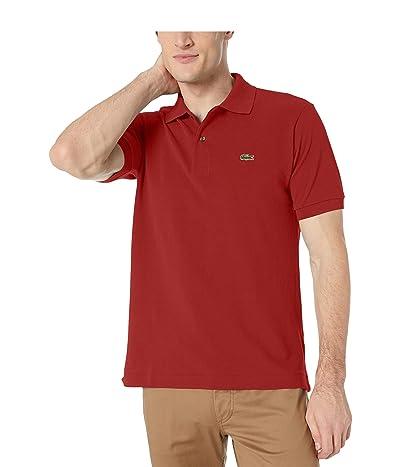 Lacoste L1212 Classic Pique Polo Shirt (Schoolhouse Red) Men