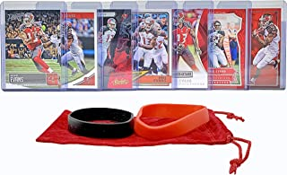 Mike Evans Football Cards (7) Assorted Bundle - Tampa Bay Buccaneers Trading Card Gift Set